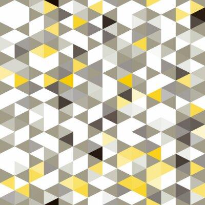 Fototapete nahtlose Hintergrund mit abstrakten geometrischen Formen