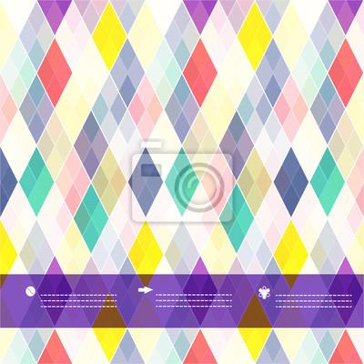 Nahtlose Hintergrund Schottenkaro-Muster mit Platz für Ihren Text.
