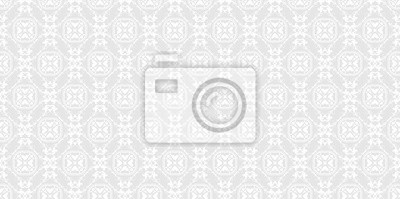 Fototapete Nahtlose Muster Tapete. Altmodisch. Graue Und Weiße Farbe. Design  Tapete, Dekoration