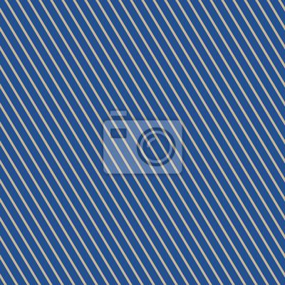 Fototapete Nahtlose Muster Von Schrägen Streifen, Muster Für Stoff Und  Verpackung Papier, Gold Schräge