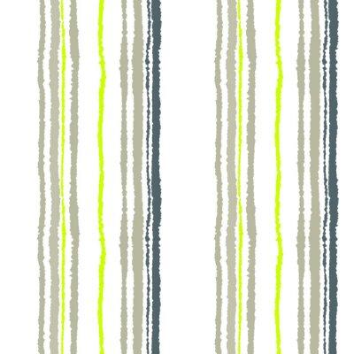Fototapete Nahtlose Streifenmuster. Vertikale Linien mit zerrissenen Papiereffekt. Shred Rand Hintergrund. Kaltes weiches Grau, oliv, weiße Farben. Winter Thema. Vektor