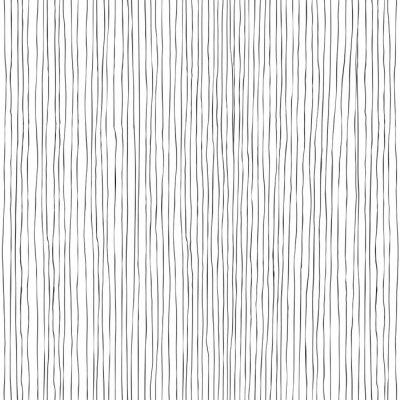 Fototapete Nahtlose vertikale Linien handgezeichnete Muster