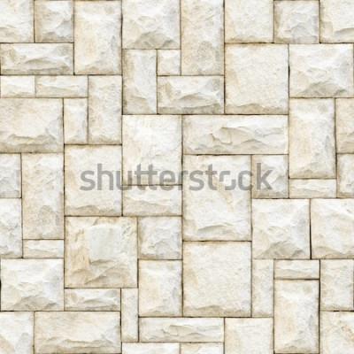 Fototapete Nahtloser beige steiniger Oberflächenhintergrund.
