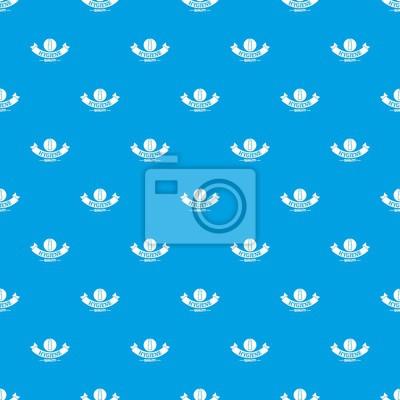 Nahtloses Muster des Hygienelippenstiftmuster-Vektors Blau