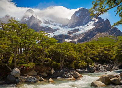 Fototapete Nationalpark Torres del Paine. Patagonien, Chile
