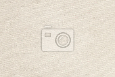 Fototapete Natural linen material textile canvas texture background