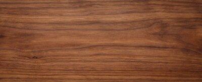 Fototapete Natural oak texture with beautiful wooden grain, walnut wooden planks, Grunge wood wall.