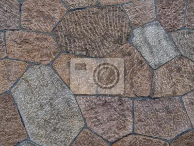 Fototapete Naturstein Wand
