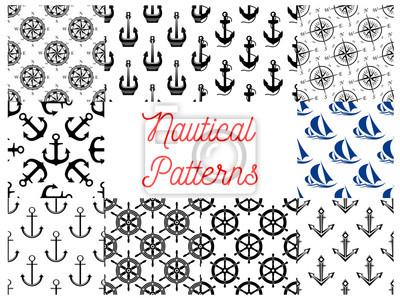 fototapete nautische und marine konzept muster - Konzept Muster