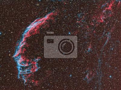 Nebelfleck mit einem telecope und einem wissenschaftlichen CCD-Kamera abgebildet