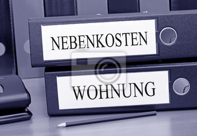 Nebenkosten Wohnung Fototapete Fototapeten Vermieter Wattzahl