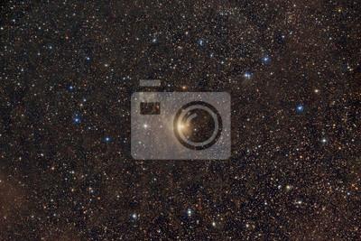 Nebula around the star BE Cam