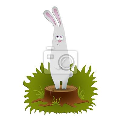 Nette Kaninchen