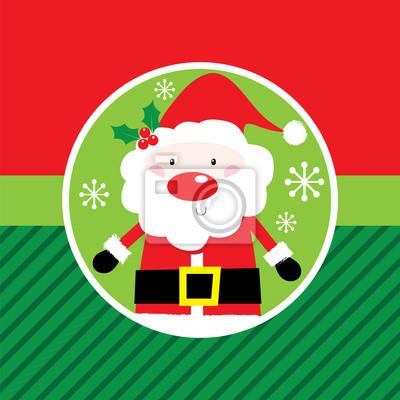 Nette sankt mit weihnachtsfarb geeignet für ihre kinder ...