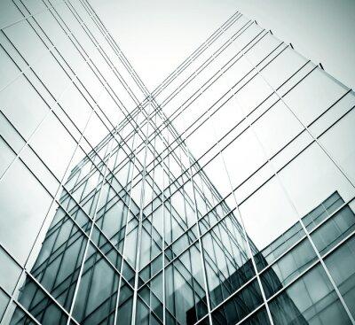 Fototapete neues Bürogebäude im Businesscenter