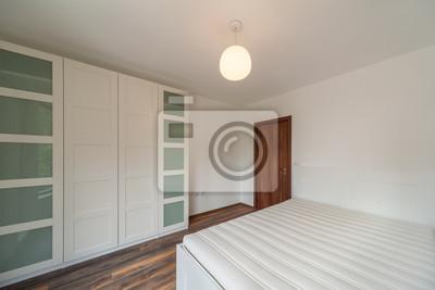 Neues modernes schlafzimmer. neues zuhause. innenaufnahmen ...