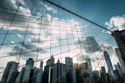 Fototapete New York, Brooklyn Bridge,