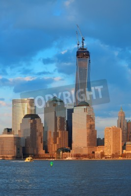 New York City 20 Marz One World Trade Center Freedom Tower