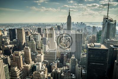 Fototapete New York City in den USA