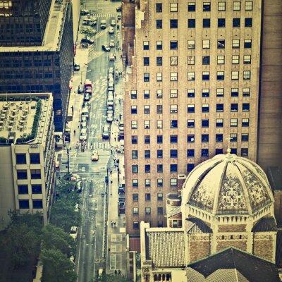 Fototapete New York Straßen