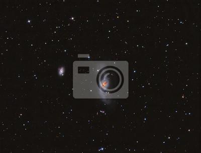 NGC3718 verzogen Spiralgalaxie im Großen Bären