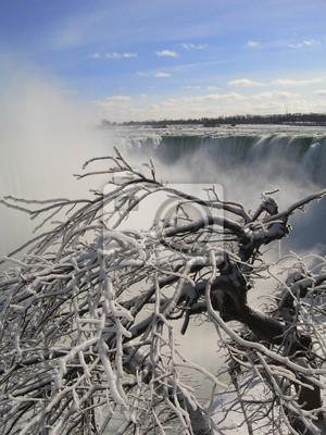 Niagara Falls auf Eis