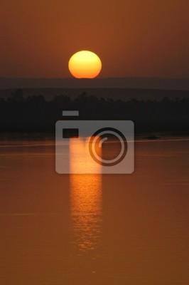 Nil-Sonnenuntergang