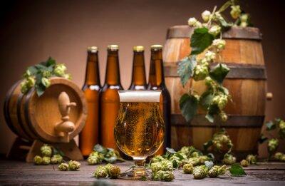 Fototapete Noch Leben mit Bier