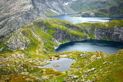 Fototapete Nord-Norwegen-Landschaften. Lofoten