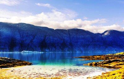 Fototapete Norwegen Landschaften