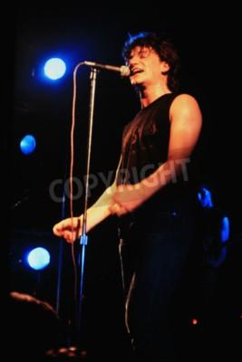 Fototapete Norwich, England, 1. Oktober 1981 - U2 Konzert bei UEA