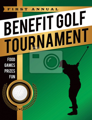 Nutzen Golf Tournament Illustration