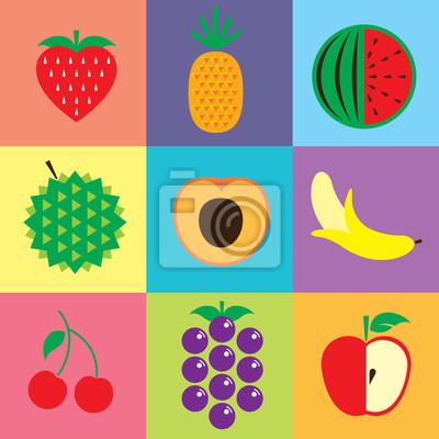 Obst-Symbole