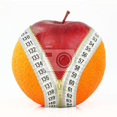 Obst und Diät gegen Fett
