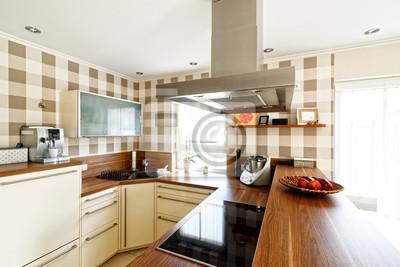 Fototapete Offene Küche Mit Essbereich