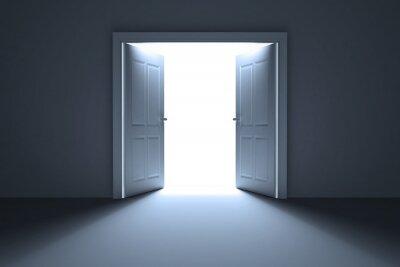 Fototapete Offene Türen