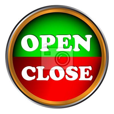 Öffnen und schließen icon