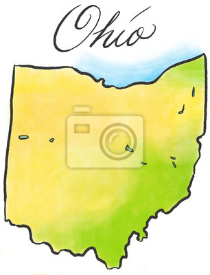 Ohio Karte