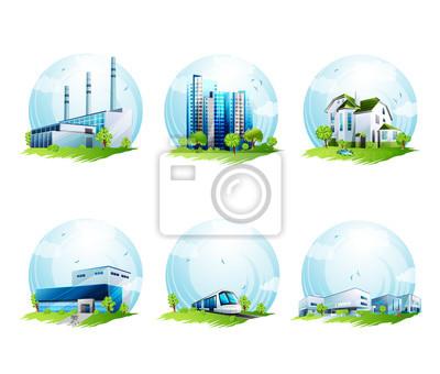 Ökologie Design-Elemente