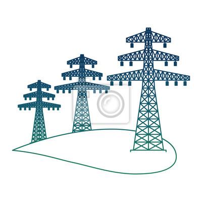 Fototapete Okologie Energie Alternative Hochspannung Stromleitung Strom