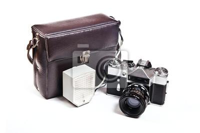 Entfernungsmesser Städte : Old entfernungsmesser vintage kamera auf weißem hintergrund