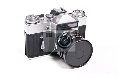 Entfernungsmesser Mit Sucher : Old entfernungsmesser vintage kamera auf weißem hintergrund