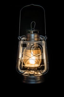 llampe leuchtet im dunkeln fototapete fototapeten. Black Bedroom Furniture Sets. Home Design Ideas