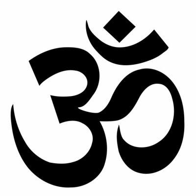 Fototapete om sign yoga symbol vector illustration