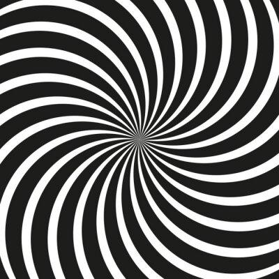 Fototapete Op Art Swirl Spiral Background
