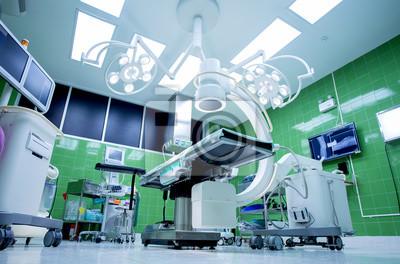 Fototapete Operationssaal mit moderner Ausstattung.