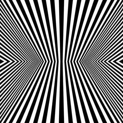 Fototapete Optical Art Rhombus Seamless Pattern