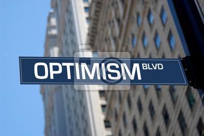 Optimismus Boulevard Plaque