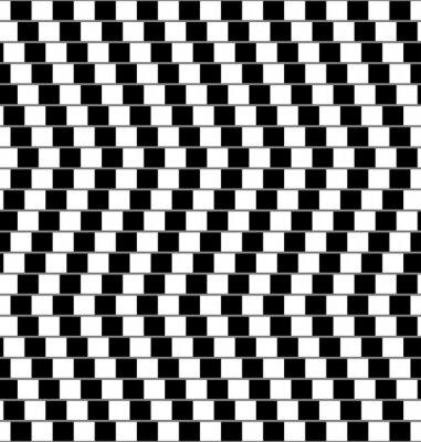 Fototapete Optische Täuschung