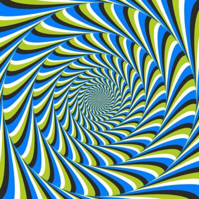 Fototapete optische Täuschung Wirbel ccw